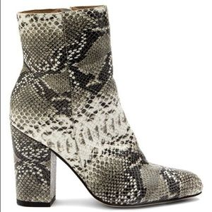 Amuse Society X Matisse Amore Snakeskin Booties
